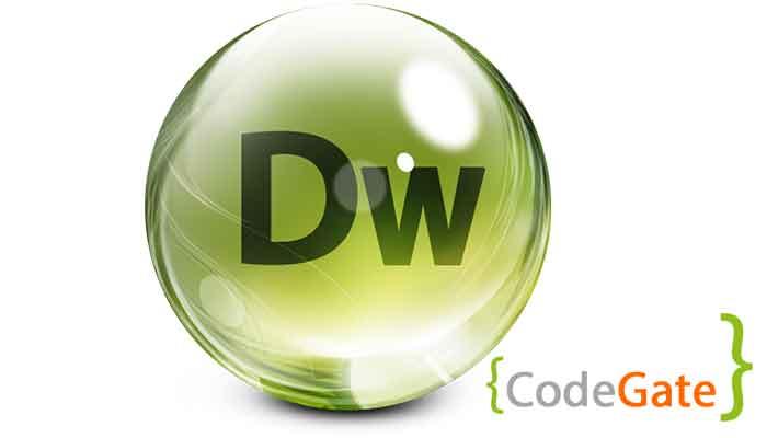 نرم افزار Dreamweaver (نرم افزارهای برنامه نویسی تحت وب)