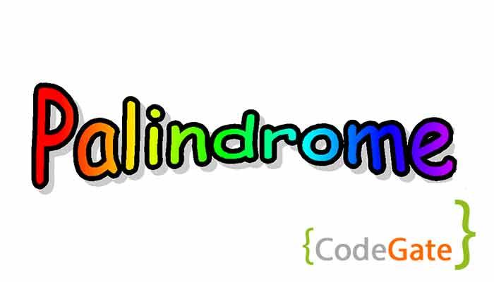 واروخوانه در سی شارپ (Palindrome in Csharp)