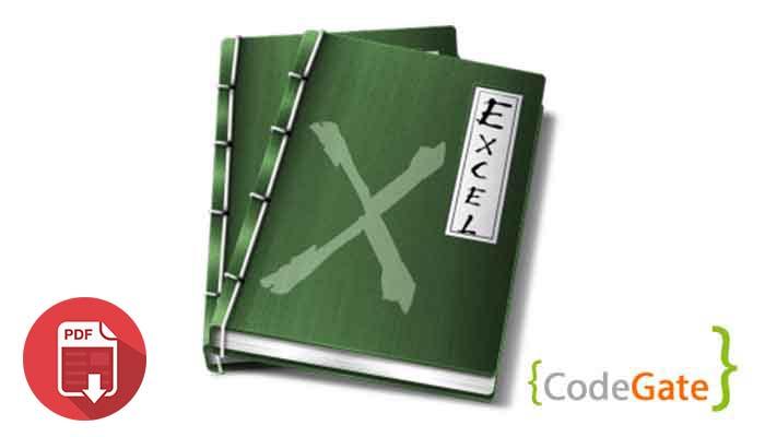 pdf آموزش خواندن فایل اکسل در جاوا (Read Excel File)