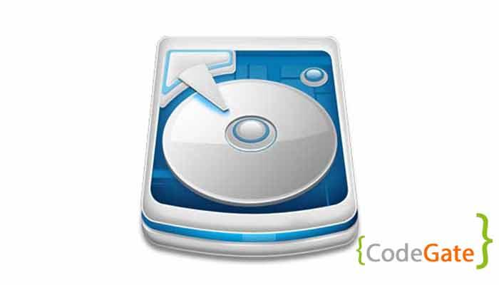 نمایش فضای حافظه در جاوا (Disk Space)