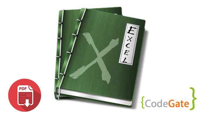 pdf آموزش نوشتن در فایل اکسل با جاوا (Write Excel File)