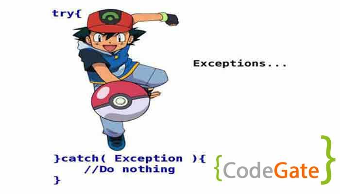 مدیریت استثنا در جاوا (Exception Handling)
