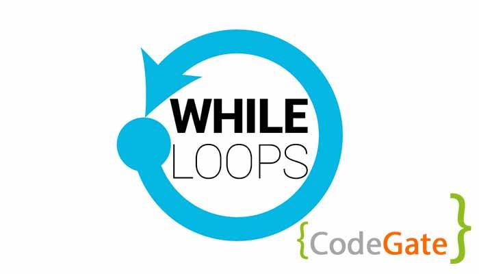 حلقه while در c++(آموزش While loop)