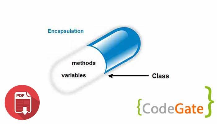 pdf آموزش Encapsulation در جاوا (کپسوله سازی)
