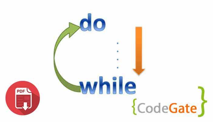 pdf آموزش حلقه do while در جاوا (Do While in java)