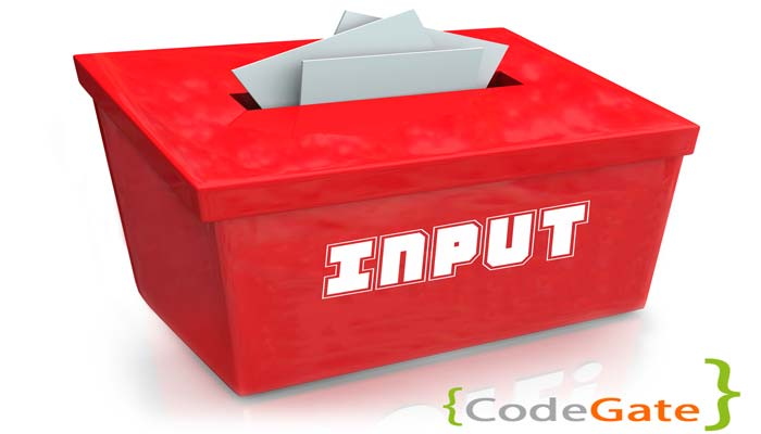 انواع input در فرم های php (آموزش input type )