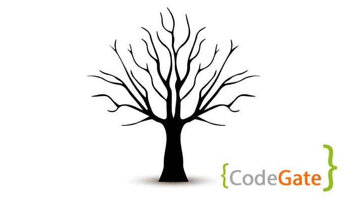 دانلود سورس کد درخت جستجوی دودویی در سی پلاس پلاس