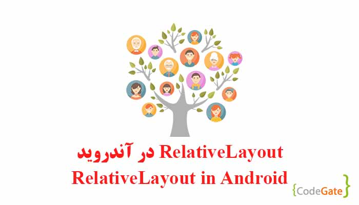 Relative Layout در آندروید (Relative Layout in Android)