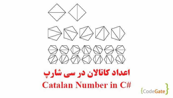 اعداد کاتالان در سی شارپ (Catalan Number)